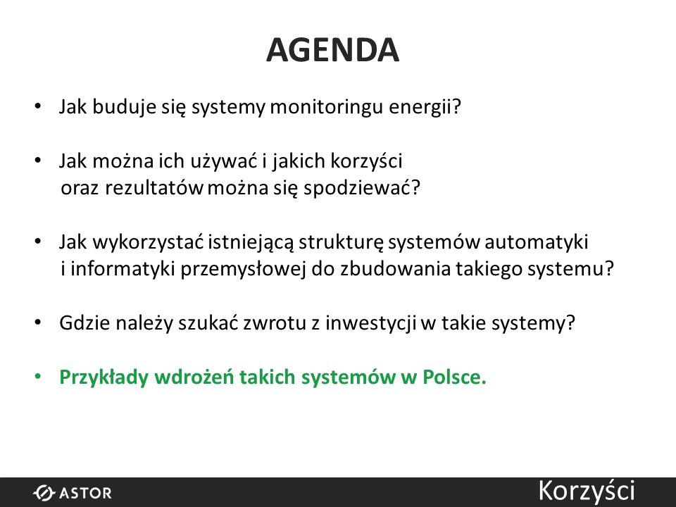 AGENDA Jak buduje się systemy monitoringu energii.