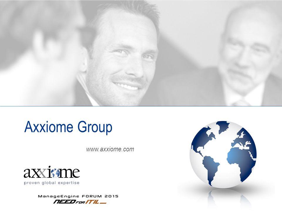 www.axxiome.com Axxiome Group