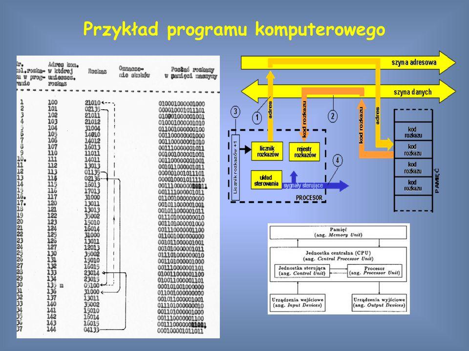 Przykład programu komputerowego