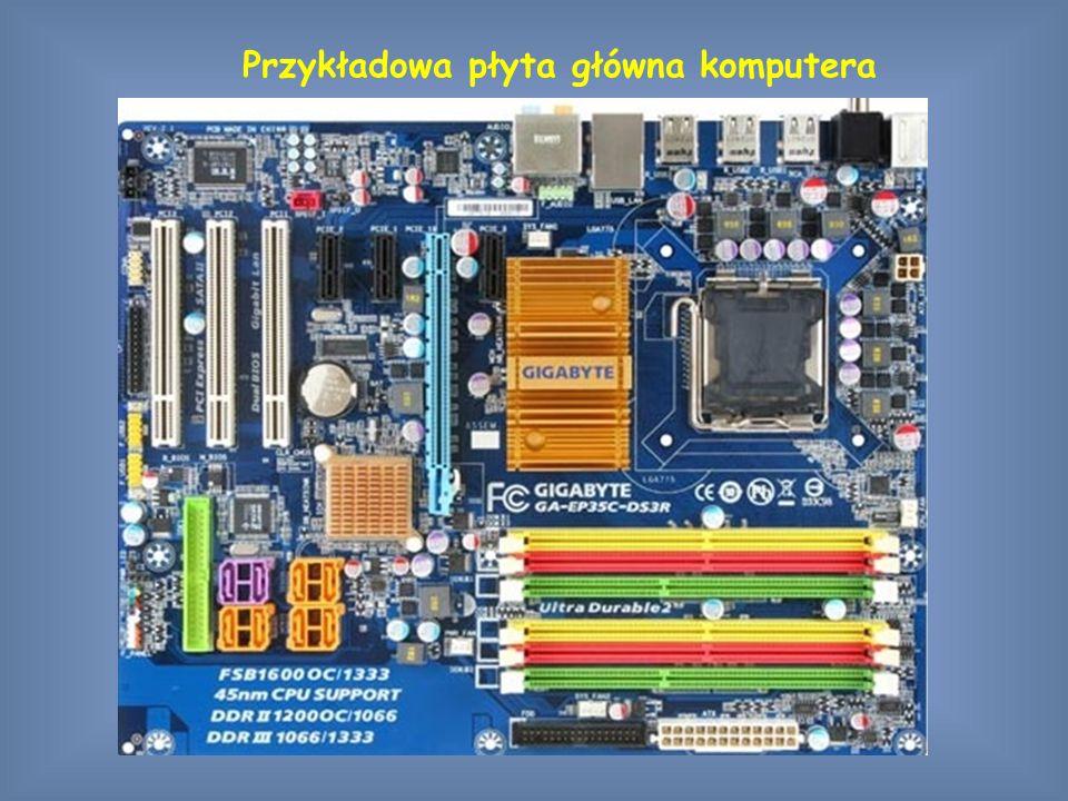 Przykładowa płyta główna komputera