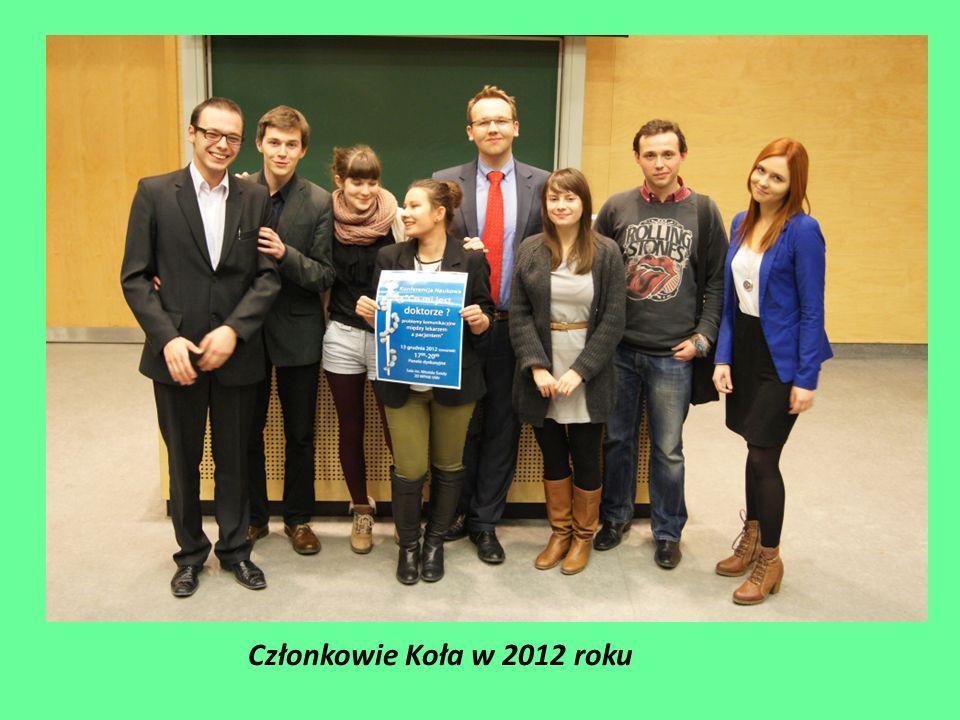Członkowie Koła w 2012 roku