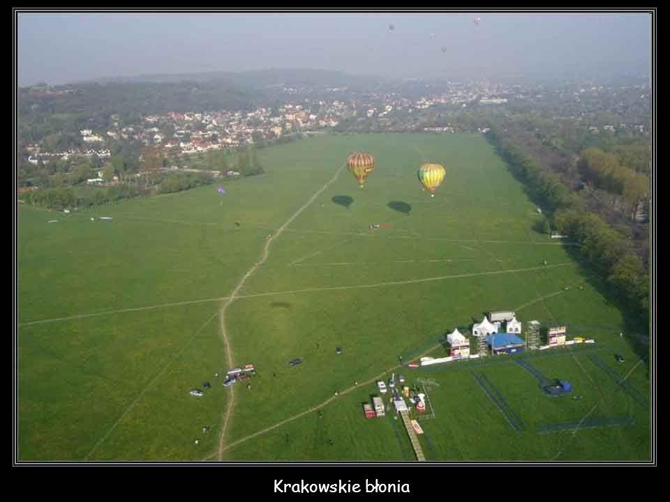 Park Krakowski o świcie
