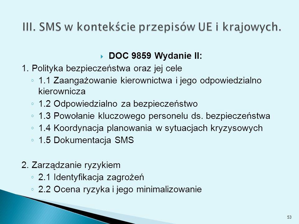  DOC 9859 Wydanie II: 1.