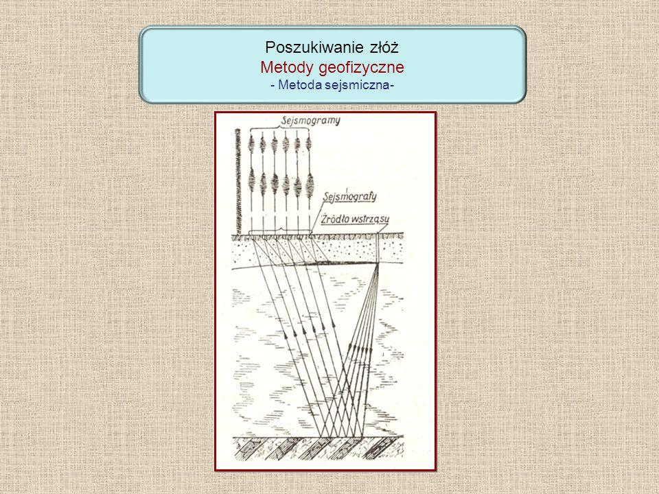 Poszukiwanie złóż Metody geofizyczne - Metoda sejsmiczna-
