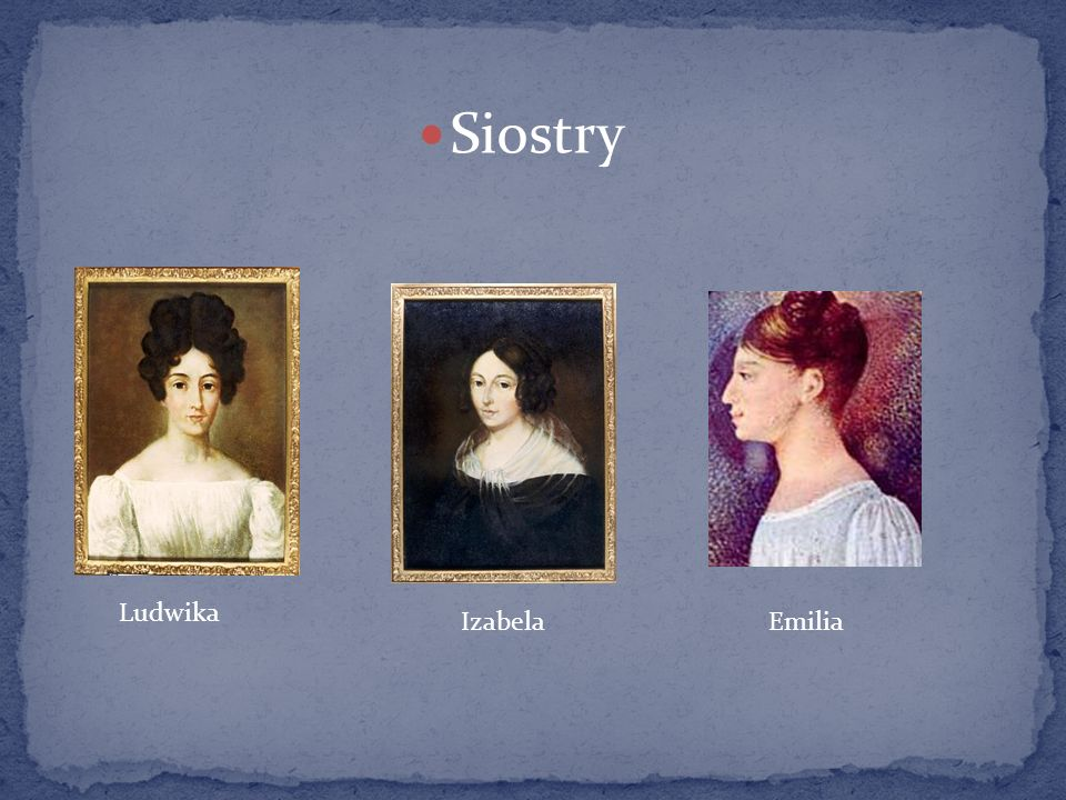 Kilka miesięcy po urodzeniu Fryderyka rodzina przeniosła się do Warszawy.