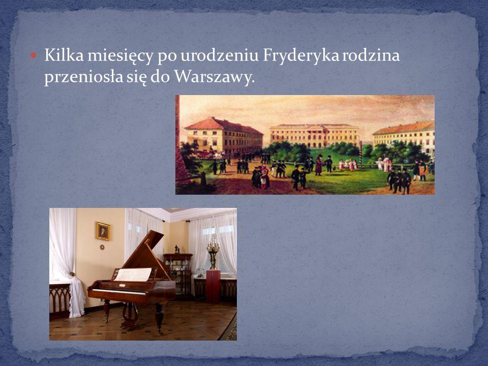 Pomnik Fryderyka Chopina w Łazienkach Królewskich.