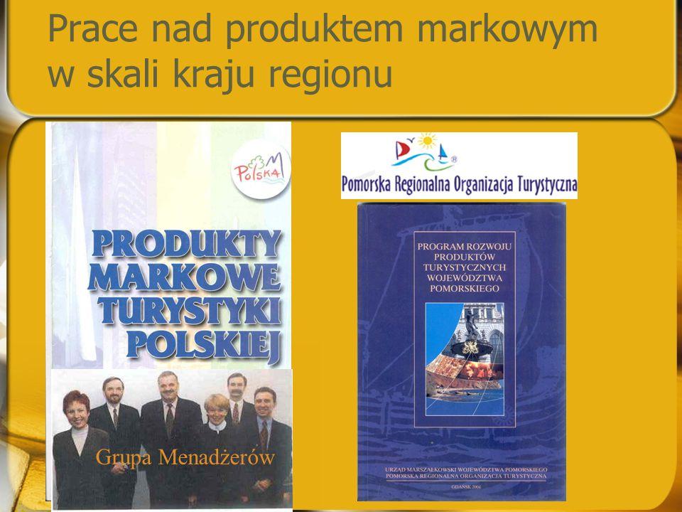 Prace nad produktem markowym w skali kraju regionu Grupa Menadżerów