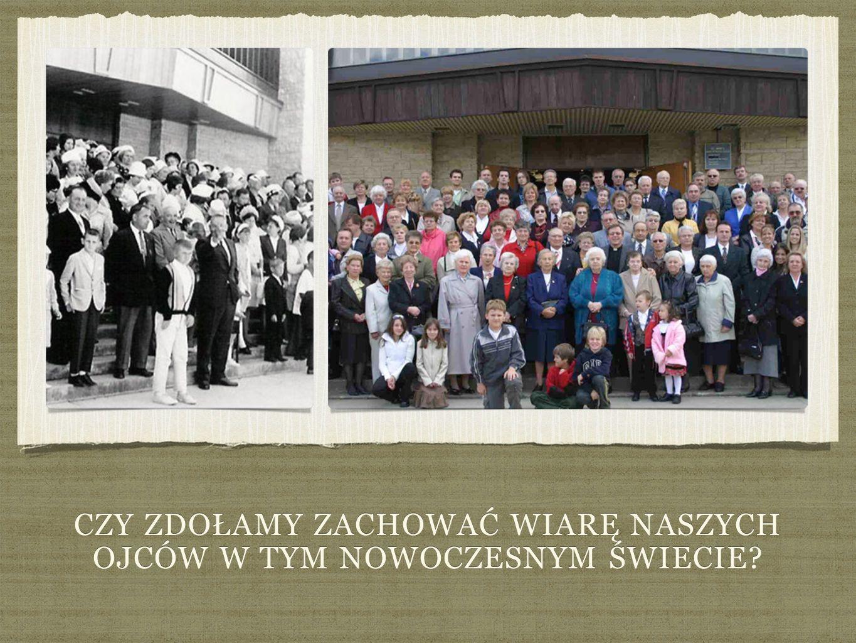 1965 Trudne to by ł y czasy dla pierwszych powojennych emigrantów polskich, którzy przybyli do Kanady z pustymi r ę koma, za wyj ą tkiem ich chrze ś cija ń skiej wiary, oraz mocno utrwalonych warto ś ci moralnych.