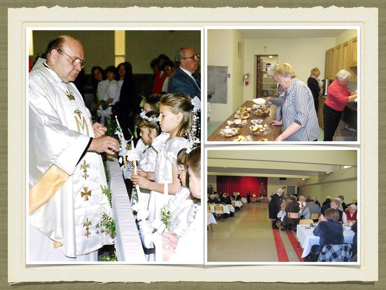 HISTORIA Wsłuchując się w głos Biskupa Colli, podczas homilii usłyszeliśmy, o tych, którzy wnieśli swój ogromny wkład w powstanie i istnienie Parafii.