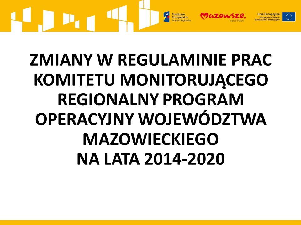 l.p.Obowiązujące zapisy w Regulaminie Proponowane zmiany w zapisach Uzasadnienie zmiany 1.