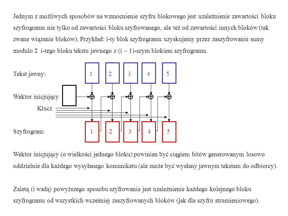 Szyfrowanie strumieniowe w najprostszym przypadku polega na generowaniu po stronie nadawcy i po stronie odbiorcy takiego samego pseudolosowego ciągu bitów i używania go w charakterze klucza jednokrotnego (o zmiennej długości).