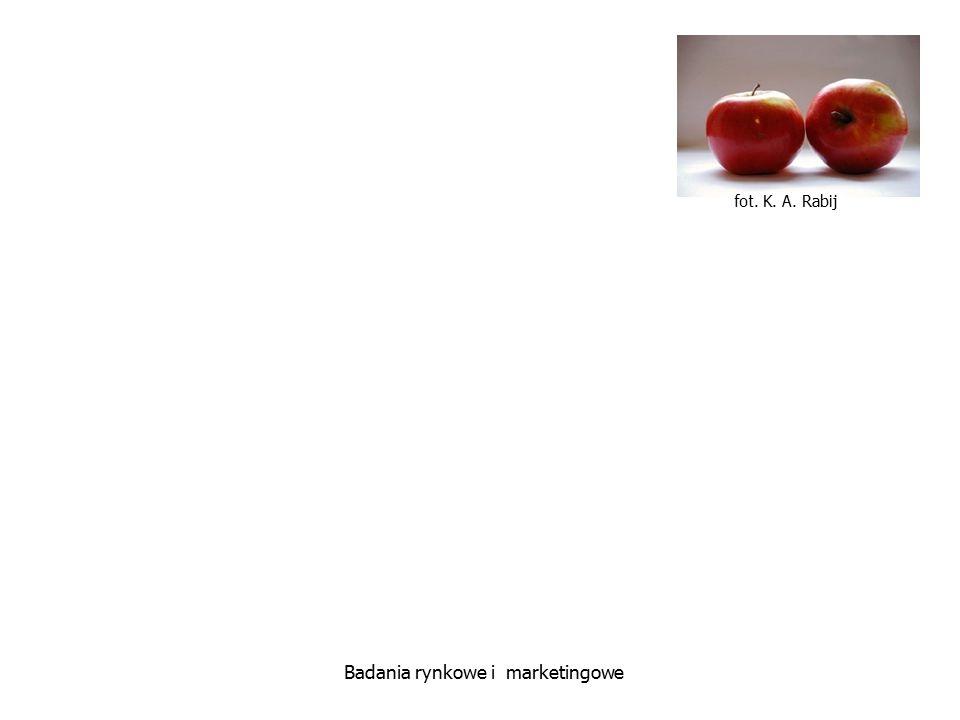 fot. K. A. Rabij Badania rynkowe i marketingowe Narzędzia w badaniach ilościowych