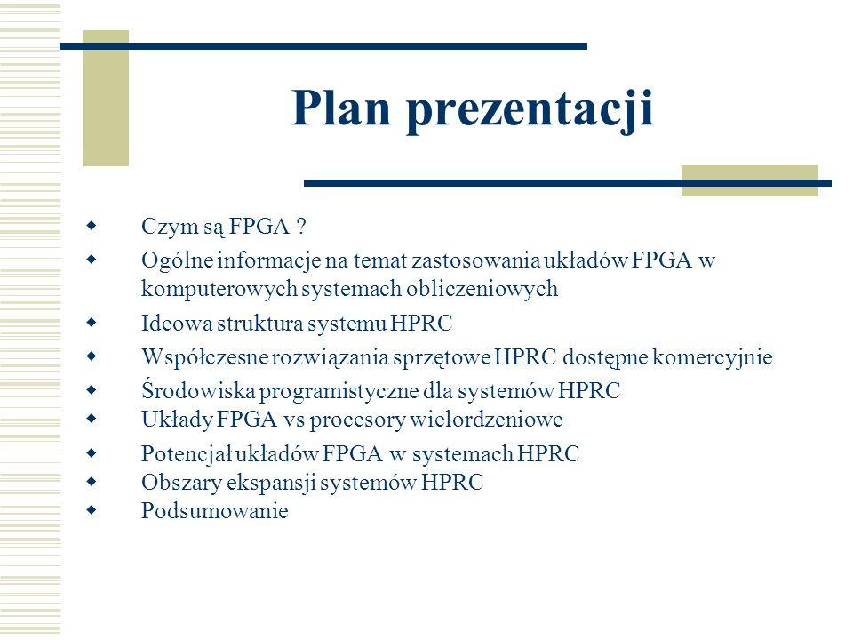 Współczesne rozwiązania HPRC dostępne komercyjnie Cray XT4 – wizualne środowisko monitorowania zasobów PE