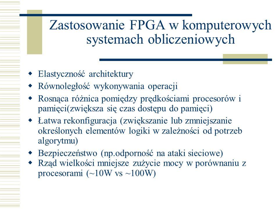 Podsumowanie Rozwój HPRC można obecnie porównać do stanu zaawansowania systemów HPC przed 15 laty.