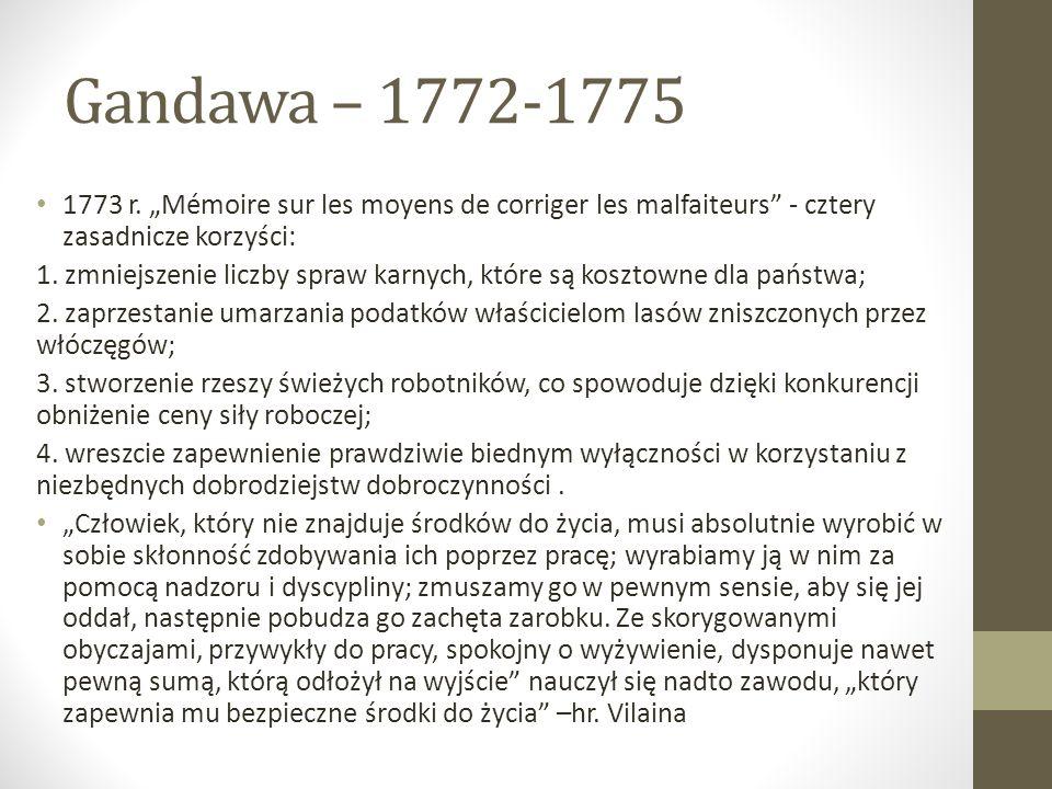 Gandawa – 1772-1775 1773 r.