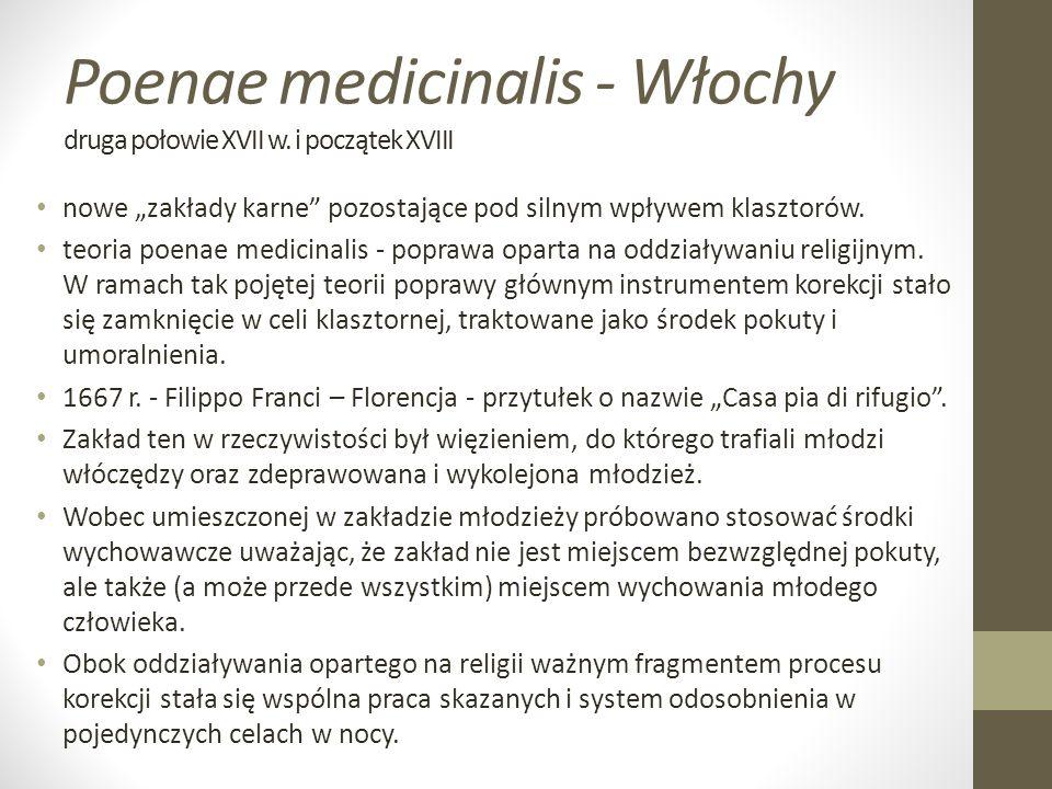 Poenae medicinalis - Włochy druga połowie XVII w.