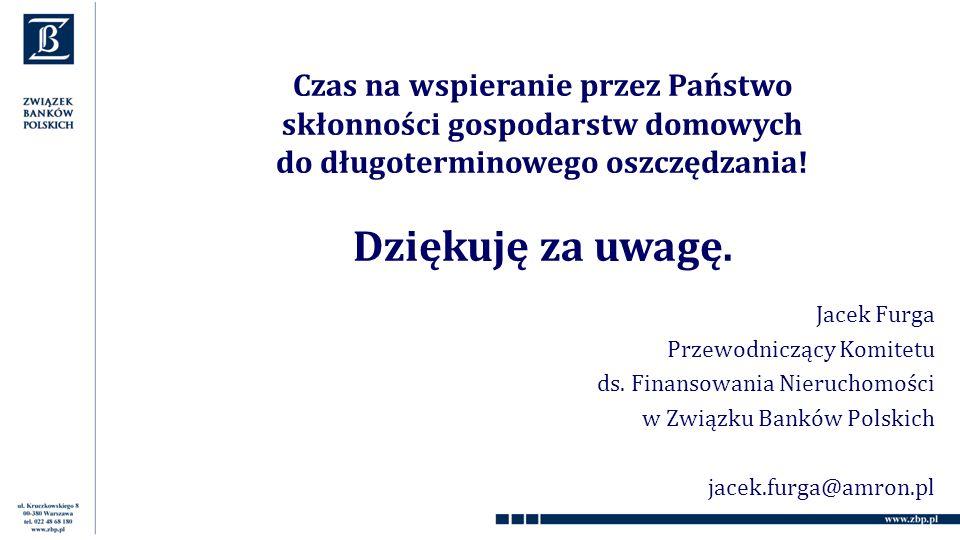 Jacek Furga Przewodniczący Komitetu ds.