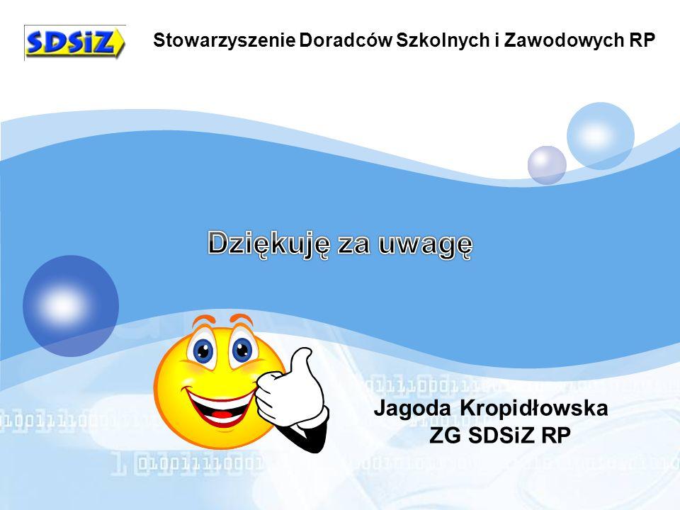 Stowarzyszenie Doradców Szkolnych i Zawodowych RP Jagoda Kropidłowska ZG SDSiZ RP