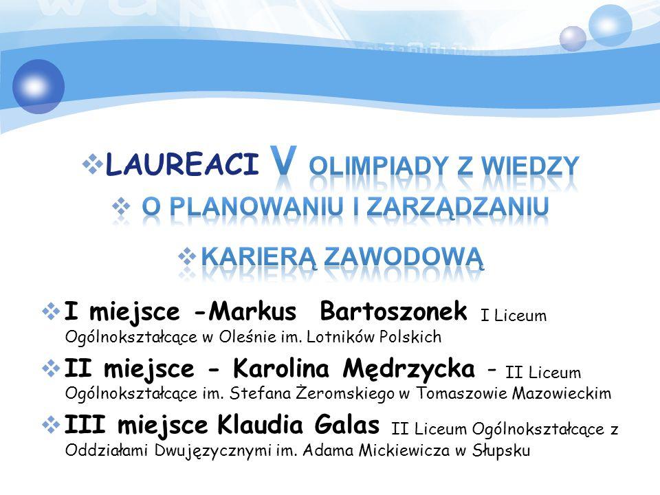 I etap 2 grudnia 2015 – 25 stycznia 2016, Zgłoszenia maksymalnie 3140 uczniów – INTERNETOWO II etap 15–29 marca 2016, Przechodzi do niego maksymalnie 314 uczniów – INTERNETOWO III etap Finał 16–17 kwietnia 2015 Warszawa, Przechodzi do niego 16 finalistów.