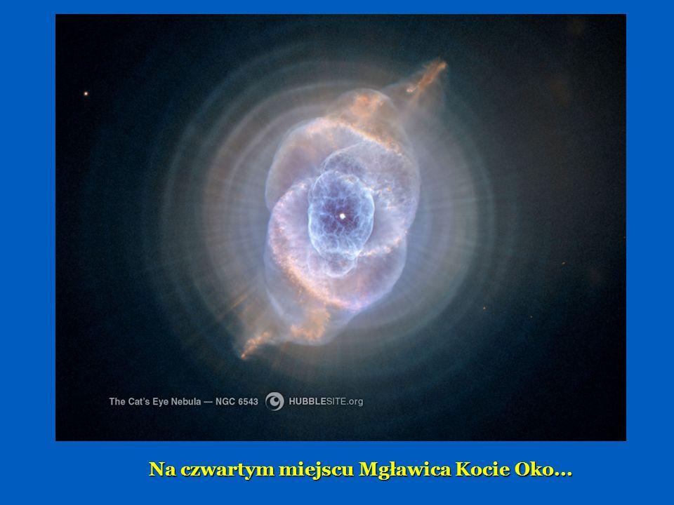 To jest Eskimos - Mgławica w odległości 5000 lat świetlnych.