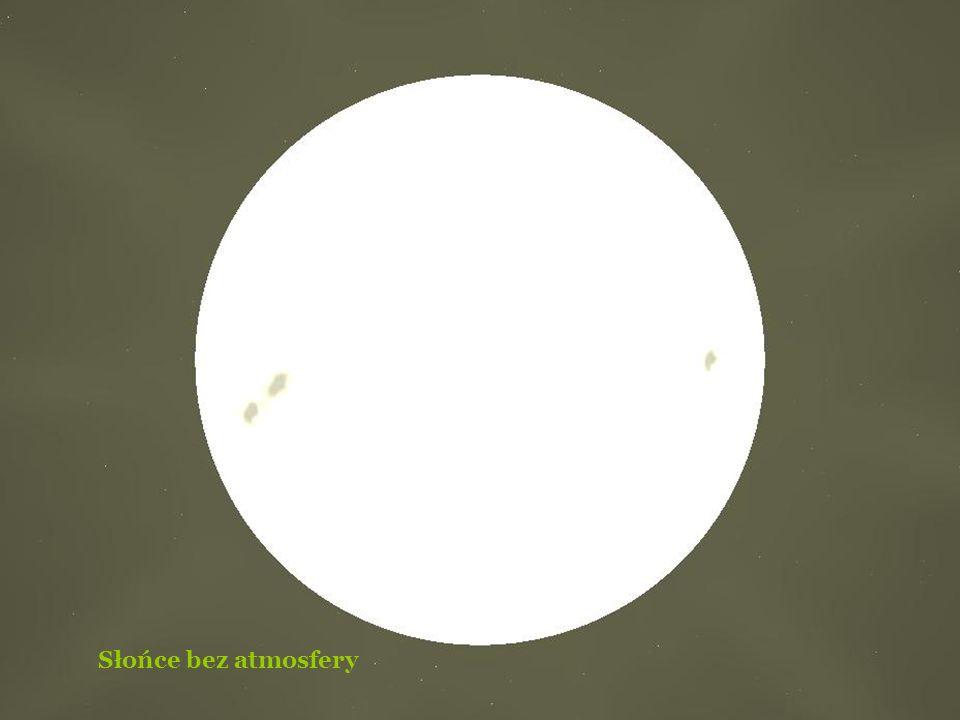 Nasze Słońce z jego atmosferą