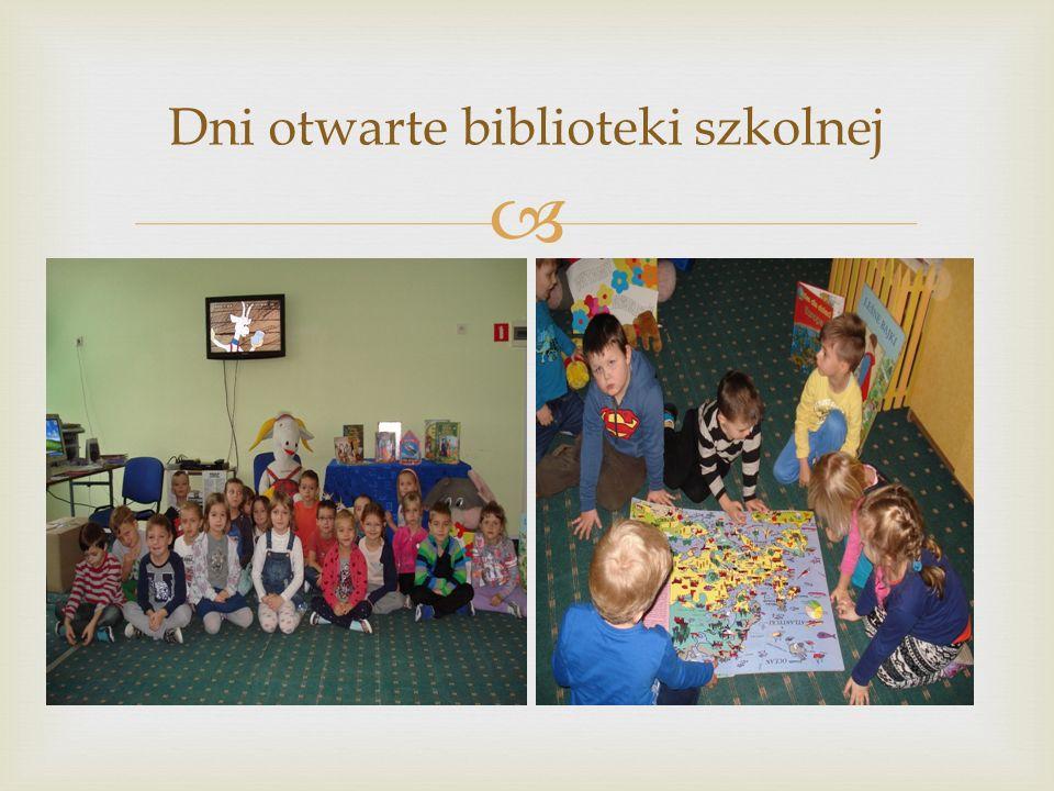  Dni otwarte biblioteki szkolnej