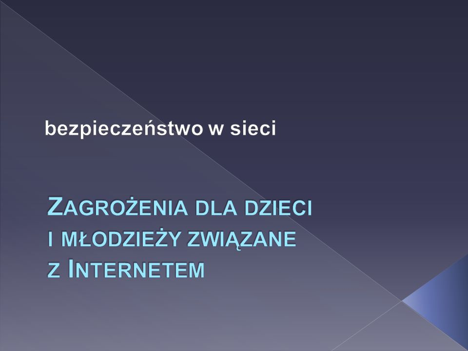 5. Uzależnienie od Internetu