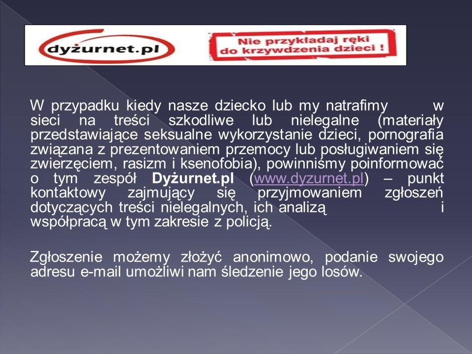 2.Nękanie w Internecie – cyberprzemoc (ang.