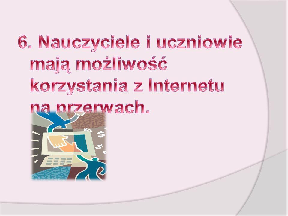 17. Uczniowie Korzystający z Internetu nie podają dokładnych danych osobowych.