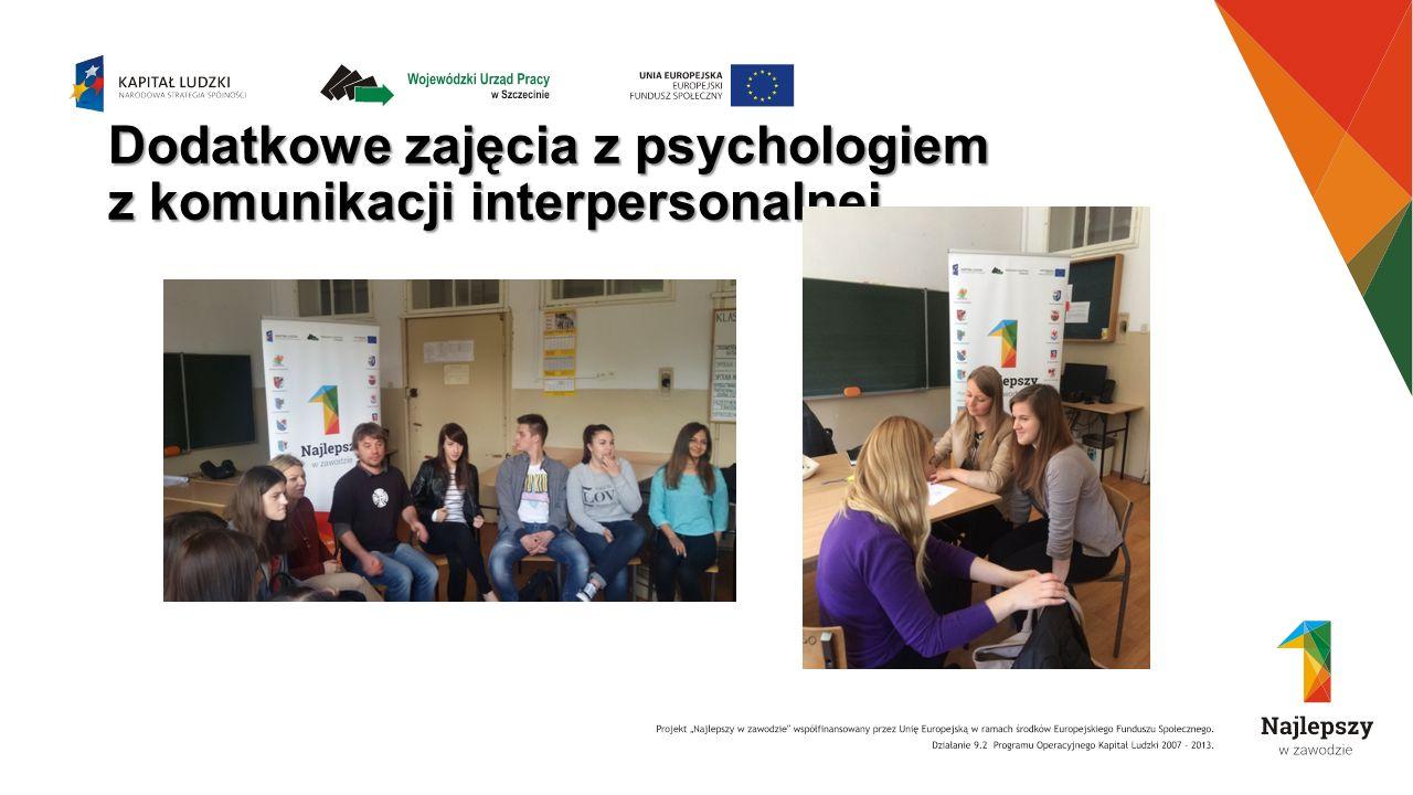 Dodatkowe zajęcia z psychologiem z komunikacji interpersonalnej
