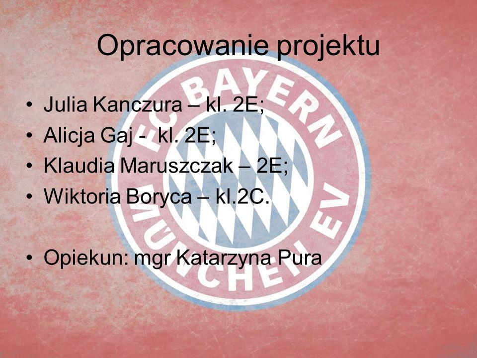 Opracowanie projektu Julia Kanczura – kl.2E; Alicja Gaj - kl.