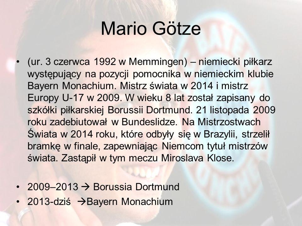 Mario Götze (ur.