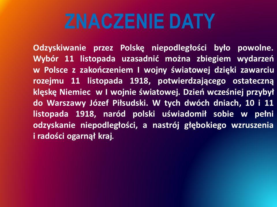  Przez cały okres rozbiorów Polacy zachowali swoją niezależność narodową,, swój język i swoją kulturę.