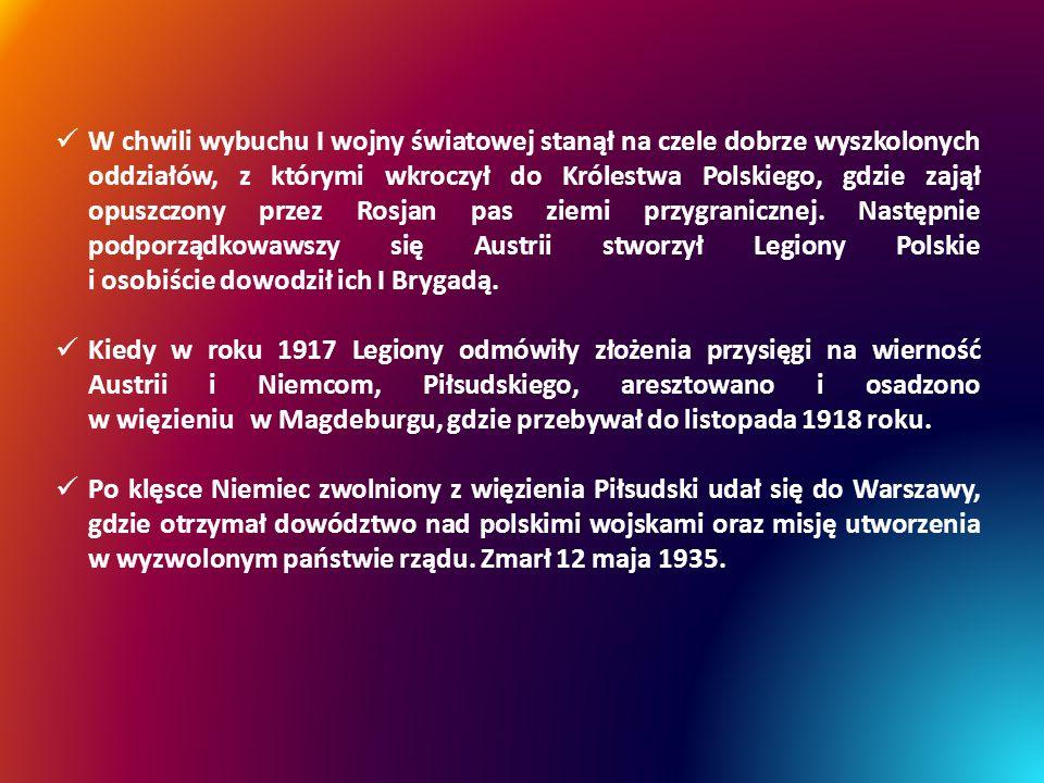 ORDERY I ODZNACZENIA Order Orła Białego – najstarsze i najwyższe odznaczenie państwowe Rzeczypospolitej Polskiej nadawane za znamienite zasługi cywilne i wojskowe dla pożytku Rzeczypospolitej Polskiej, położone zarówno w czasie pokoju, jak i w czasie wojny.