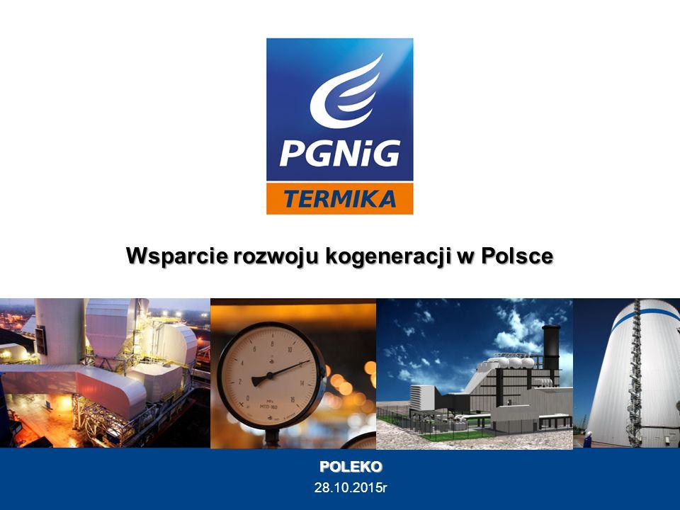 POLEKO 28.10.2015r Wsparcie rozwoju kogeneracji w Polsce