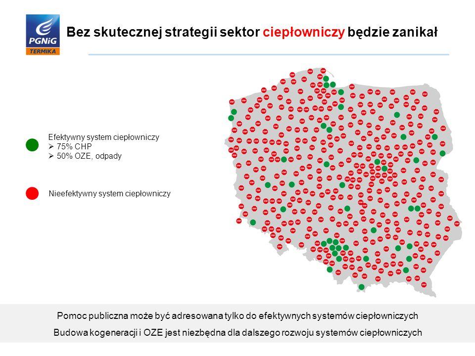 Korzyści płynące z rozwoju kogeneracji w Polsce W Polsce istnieje możliwość zwiększenia mocy KSE o ok.