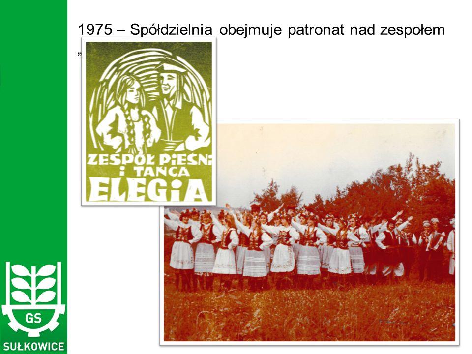 """1975 – Spółdzielnia obejmuje patronat nad zespołem """"Elegia z Rudnika"""