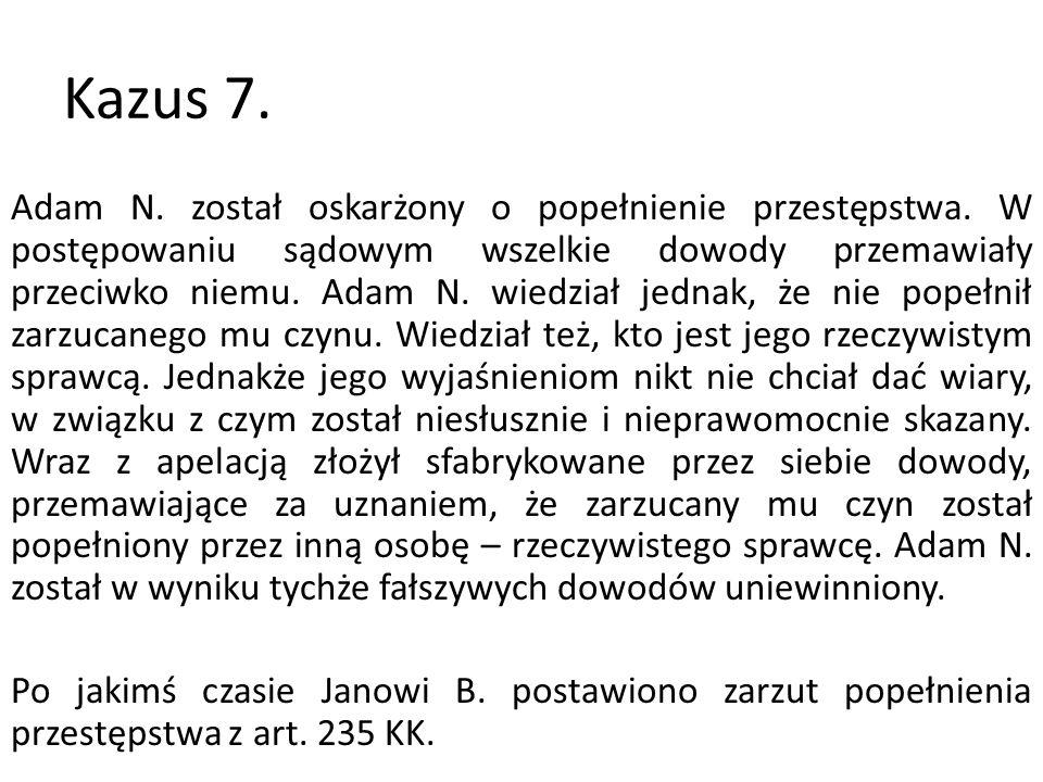 Kazus 8.