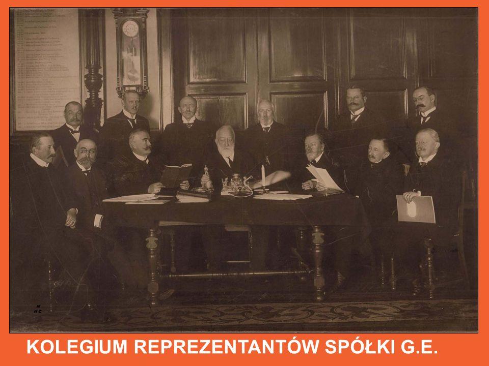KOLEGIUM REPREZENTANTÓW SPÓŁKI G.E.