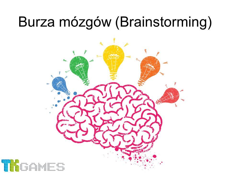 2 etapy: 1.Wytworzenie pomysłów 2.Ocena pomysłów