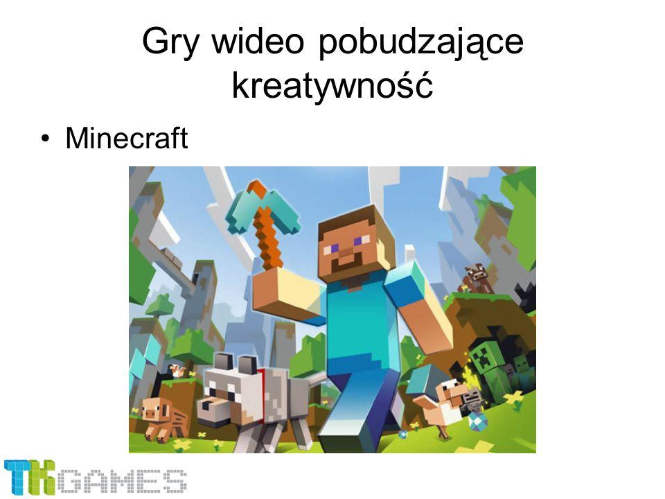 Gry wideo pobudzające kreatywność Minecraft