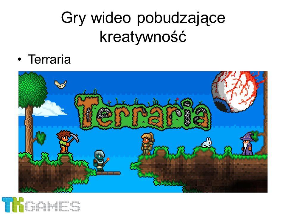 Gry wideo pobudzające kreatywność Terraria