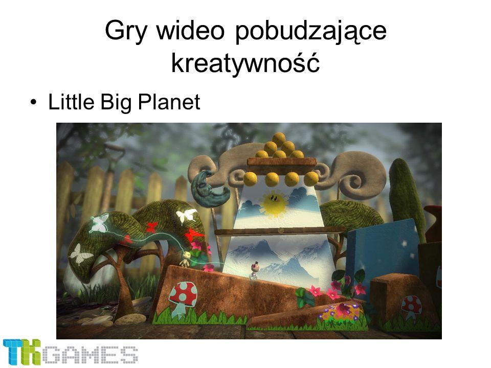Gry wideo pobudzające kreatywność Little Big Planet