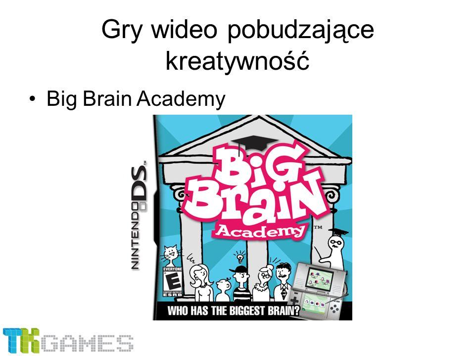 Gry wideo pobudzające kreatywność Big Brain Academy