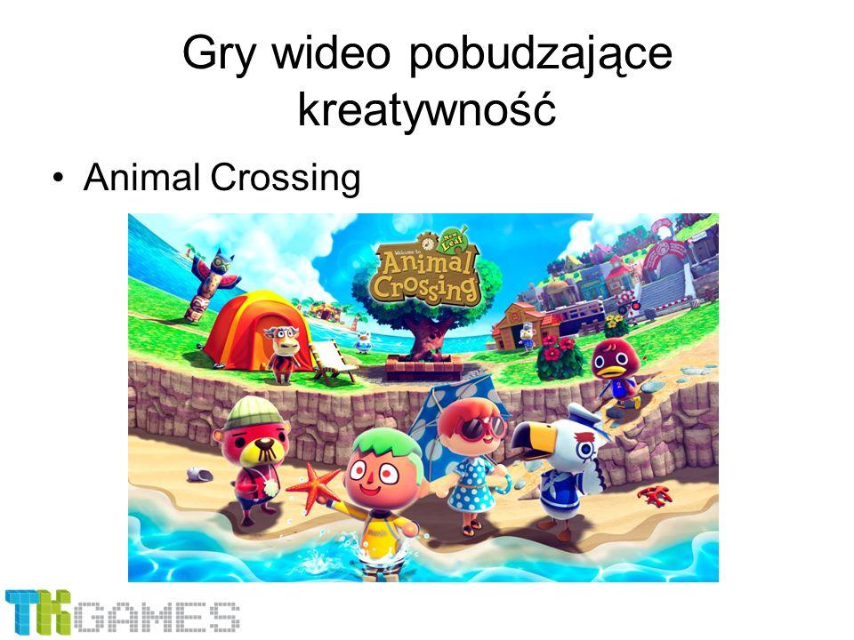 Gry wideo pobudzające kreatywność Animal Crossing