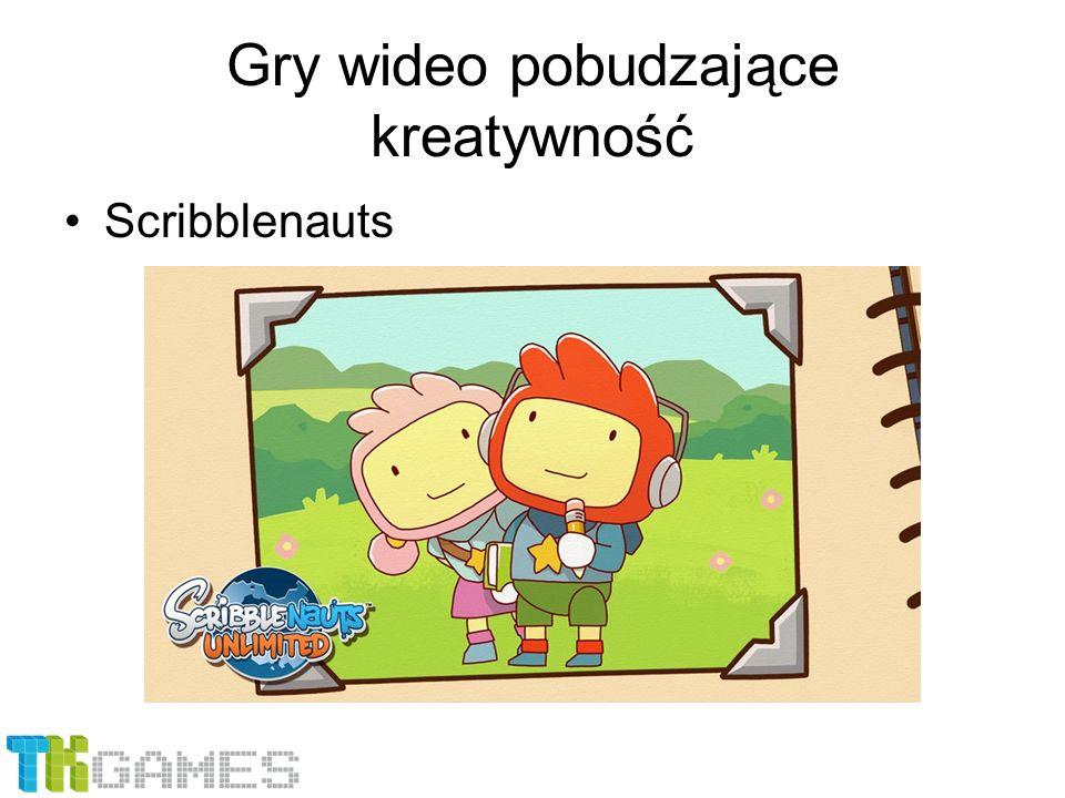 Gry wideo pobudzające kreatywność Scribblenauts