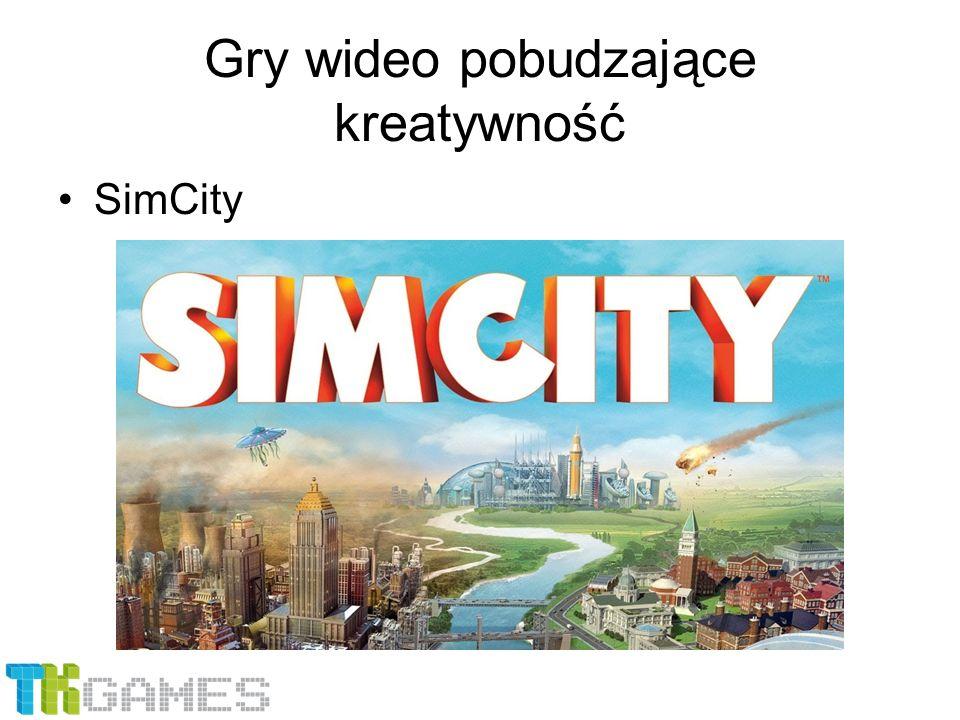 Gry wideo pobudzające kreatywność SimCity