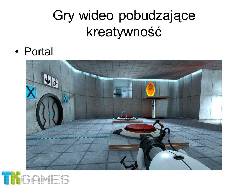 Gry wideo pobudzające kreatywność Portal
