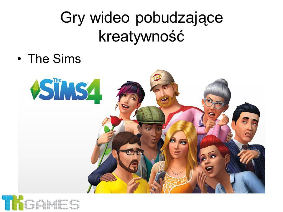 Gry wideo pobudzające kreatywność The Sims