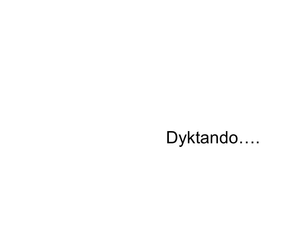 Dyktando….